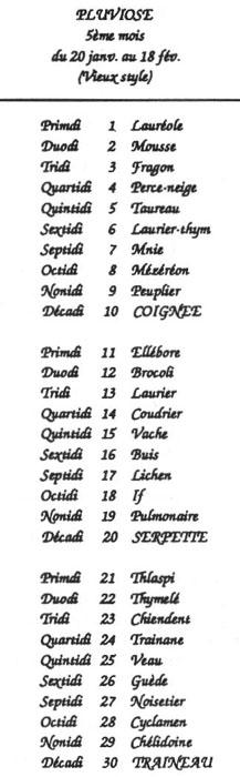 Calendrier Gregorien Et Republicain.Calendriers Page Pour L Impression