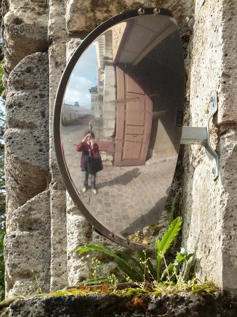 Les miroirs sph riques page pour l 39 impression for Se voir dans un miroir