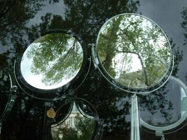 Les miroirs sph riques page pour l 39 impression for Le miroir de la vie